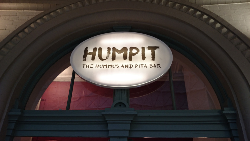 Humpit, the hummus and pita bar