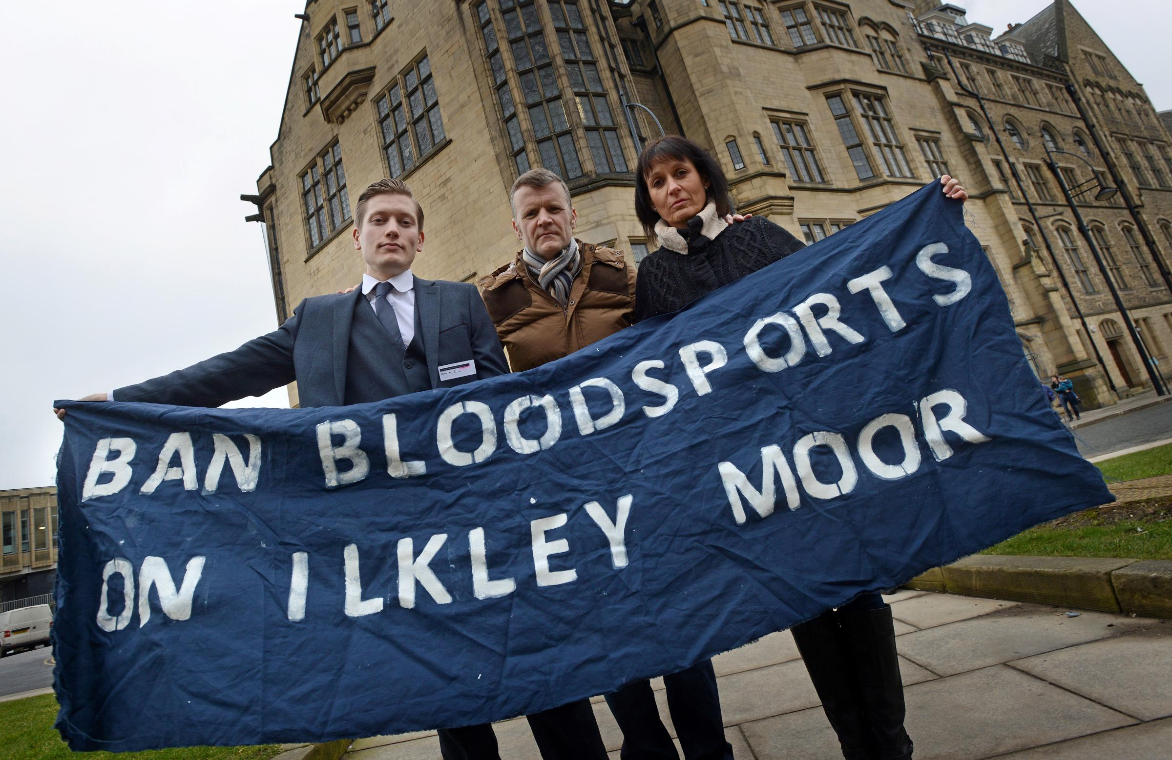 Ban Bloodsports on Ilkley Moor