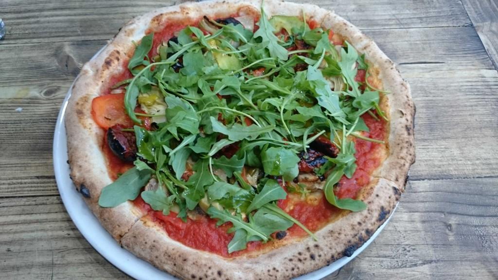 Ecco vegan pizza