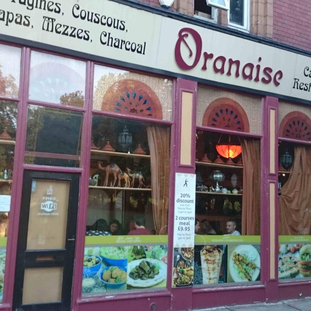 Oranaise cafe Leeds