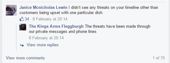 kings arms fleggburgh lies