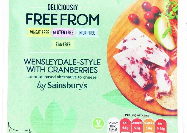 sainsbury's vegan cheese