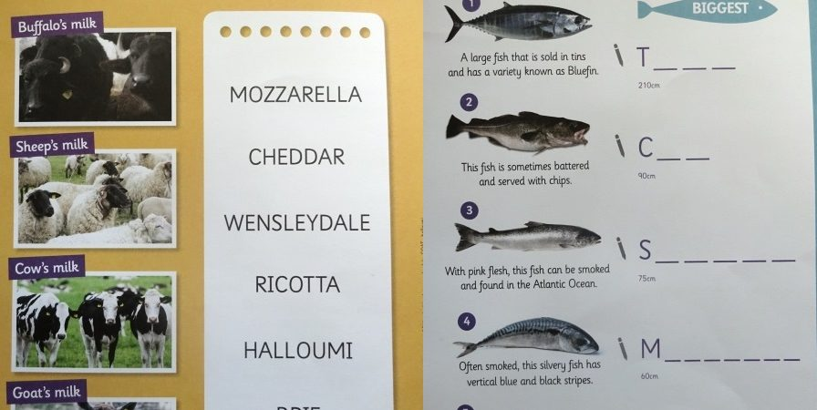 tesco promote cheese and fish to children