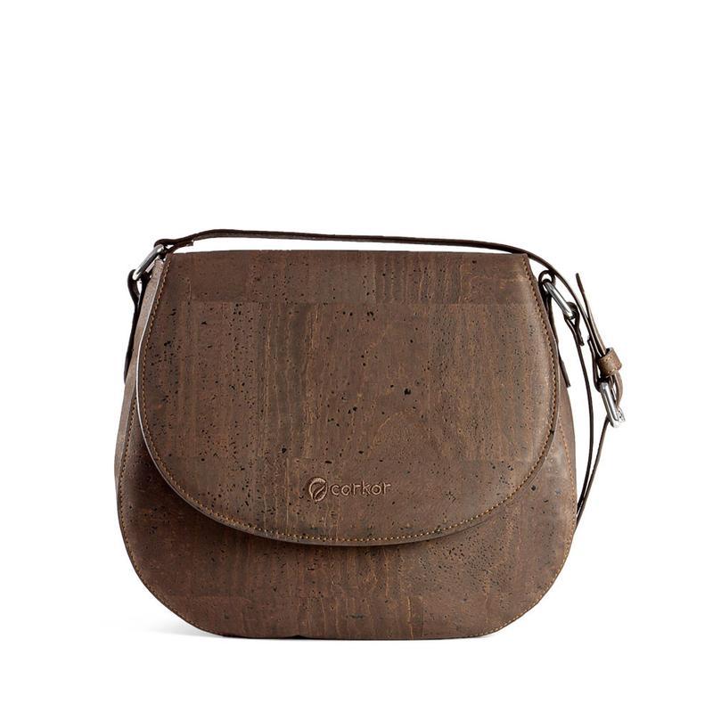 Corkor vegan cork saddle bag