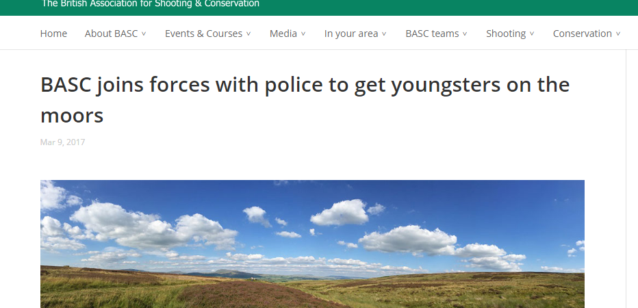 grouse shooting basc