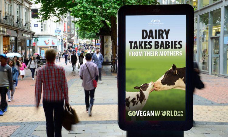 go vegan world advert