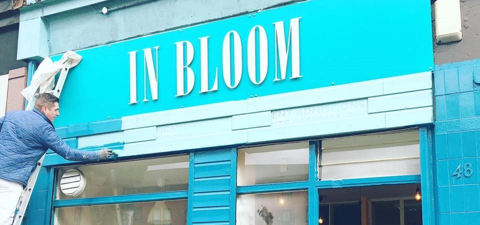 in bloom vegan cafe glasgow
