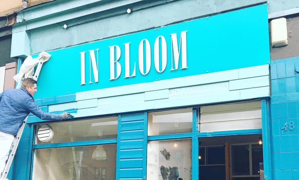 in bloom vegan cafe glasgow