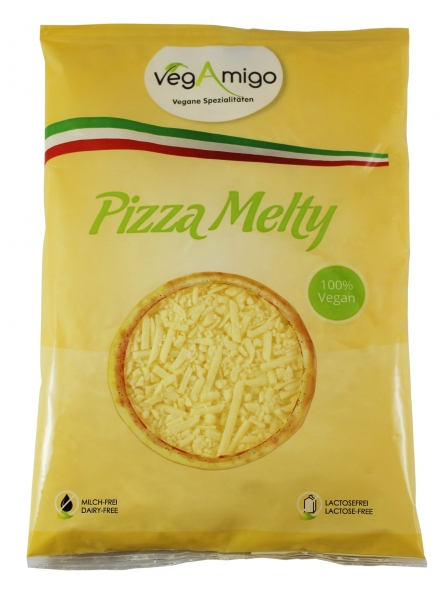 Pizza Melty vegan cheese