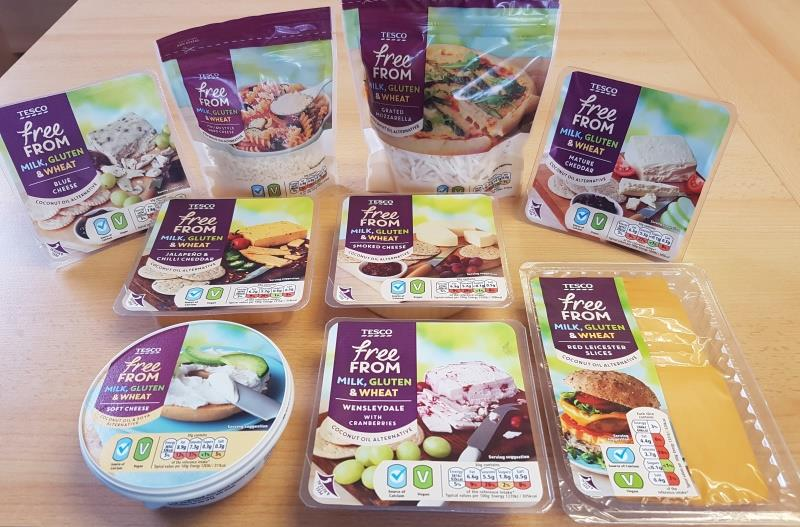 Tescofree from vegan cheese
