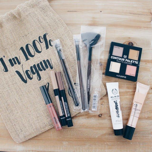 The Body Shop vegan makeup