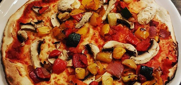wetherspoon vegan pizza